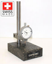 Compac 567a Dial Indicator 000005 X 050 With Compac Granite Stand Excellent
