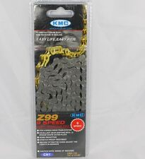 NEW KMC Z99 9 SPEED CHAIN SUIT SHIMANO SRAM  WITH MISS LINK NEW IN BOX 116LINKS