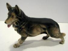 VINTAGE PORCELAIN GERMAN SHEPHERD DOG FIGURE