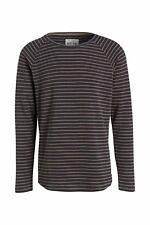 Tom Tailor Denim Sweatshirt Herren Strick gestreift grau-beige Gr. M Origina NEU