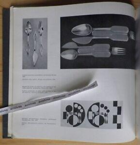 Rare GIO PONTI. PREMIO LA RINASCENTE COMPASSO D'ORO 1956 Design Compas d'Or