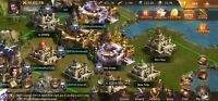 Guns of Glory: C34 170 mil power with troops kingdom 320 #3 Alliance RIP