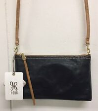 Hobo Darcy Black Crossbody Purse Genuine Leather Handbag Bag New With Tags