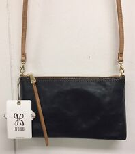Hobo Darcy Black Crossbody Purse Genuine Leather Handbag Bag New With Tags