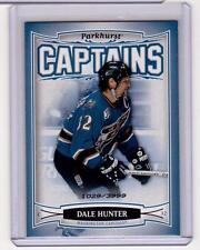DALE HUNTER 06/07 Parkhurst CAPTAINS Insert Card #216 Washington Capitals /3999