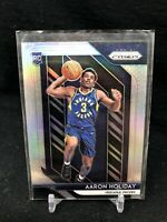 2018-19 Panini Prizm Silver #114 Aaron Holiday Indiana Pacers RC Rookie Card F76