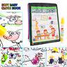 Livre À Colorier Dessin à Colorier Réutilisable de l'eau Magique Doodle Avec Pen