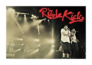 Rizzle Kicks 11 A4 photograph picture poster choice of frame