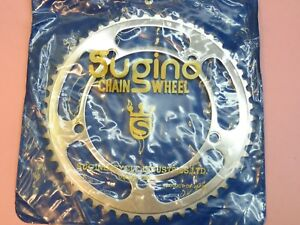 Sugino / 144 PCD 53 t - ( 5 - 7 Speed ) chainring / NOS L'eroica