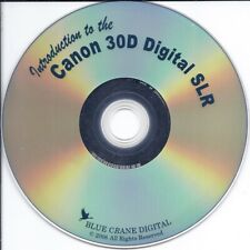 Introduction to Canon EOS 30D Digital SLR (1 hour 48 min DVD)