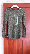 Atmosphere ladies umper,size10,green-spark, new with tag