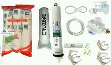 For All RO Water Filter 1 Year Service Kit + 80 GPD HI-TECH Membrane + SPUN[122]