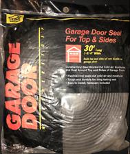"Garage Door Seal MD Bldg.Products 30' X 1-3/4""  Top Sides Weatherstrip White USA"