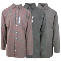 Carhartt Men's Mini Box Plaid L/S Woven Shirt XL-4XL (Retail $45)