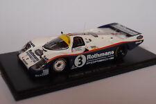 SPARK PORSCHE 956 #3 WINNER LE MANS 1983 1/43
