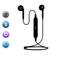 Exercise Stereo Wireless Bluetooth Headset Earphone Earbud For Samsung Galaxy S7