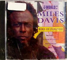 MILES DAVIS CD The World Of Miles Davies / Bird Of Paradise 10 Track SEALED