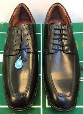 Johnston & Murphy Tillman Moc Toe Oxfords Black Calfskin Men's 11 M US 20-8755