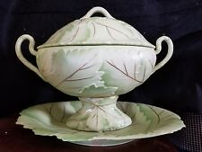 Chelsea House / Wildwood 381486 Hand Painted Porcelain Soup Tureen. Majolica