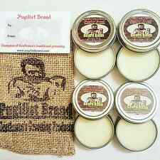 Beard Care Balm Kit. 4 Scent Collection by Pugilist Brand