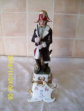 """Vintage Large 12"""" Naples/Capodimonte Italian Napoleonic Soldier Figure #2"""