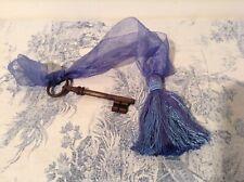 Vintage French Key & Tassel  - Passementerie, Chateau (2424)