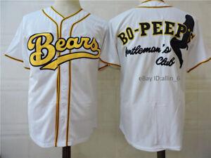 Bad News Bears Bo Peep's Baseball Jerseys Gentleman's Club Sticthed