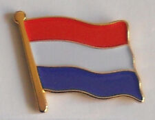 Holland Netherlands Dutch Country Flag Enamel Pin Badge