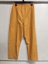 Orange Prisoner Scrub Convict Inmate Jail Unisex Large Pants Halloween Surplus