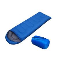 Envelope Sleeping Bag Camping Hiking Outdoor Portable Travel Liner + Bag 2018