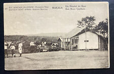 1918 Kigoma Belgian Congo Real Picture Postcard Stationery cover Hospital View