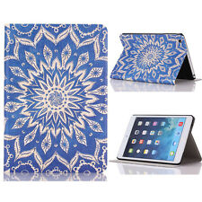 Totem Flower Flip Stand Leather Case Cover For iPad Mini 1 2 3 Retina K20A
