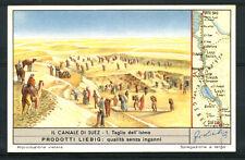 1953 - LIEBIG - LOTTO/18782 - IL CANALE DI SUEZ