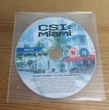 CSI MIAMI - Season 1 Pt 1 Disc 2 - Episodes 5-8 - R2 - Replacement DVD DISC ONLY