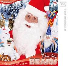 Large White Maxi Beard Father Christmas Santa Claus Fancy Dress