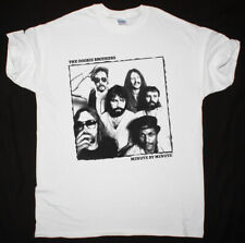 THE DOOBIE BROTHERS MINUTE BY MINUTE WHITE T SHIRT SOFT ROCK CHICAGO