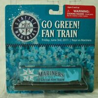 SEATTLE MARINERS MLB Baseball 2011 Go Green Fan Train New in package
