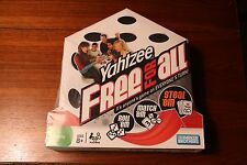 Yahtzee Free For All Parker Bros Family Fun - NEW and SEALED - 2008