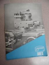 c.1960 TORNO MECANICO NARDINI 300 II Vintage Lathe Machine Tool Catalog Brochure