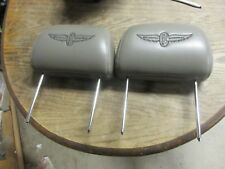 Chevrolet Impala SS Pace Car Head Rest Front Seat 2004 Gray Indianapolis 500