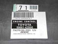 04-04 Toyota Rav4 Rav-4 4x2 AT 89661-42B00 42B01 Engine Computer ECM #825