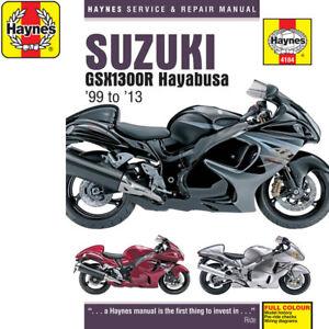 Suzuki Gsx Haynes Motorcycle Service Repair Manuals For Sale Ebay