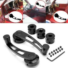 1 pair 120*35 mm Car Truck Manual Window Crank Handle s Chrome Knob Universal