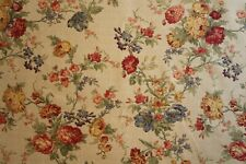 Multi-color floral decorator print by Robert Allen Home (seconds)