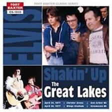 Elvis Presley - SHAKING UP THE GREAT LAKES - New Original Mint Fort Baxter CD