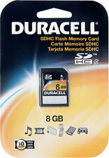 Duracell  SD Flash Memory Card  1, DU-SD-8192-R