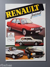 R&L Sales Brochure: Renault Range UK 1982 4 5 18 9 14 20 Fuego Trafic