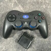 PlayStation 2 PS2 Logitech Cordless Action Controller Wireless + Receiver FAULTY