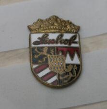 genuine later linhof Technika lens board 1960/70 badge only 11 x 17