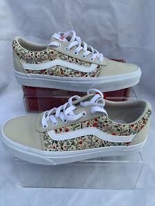 Vans Ward Ditzy Floral Sneakers Size 6